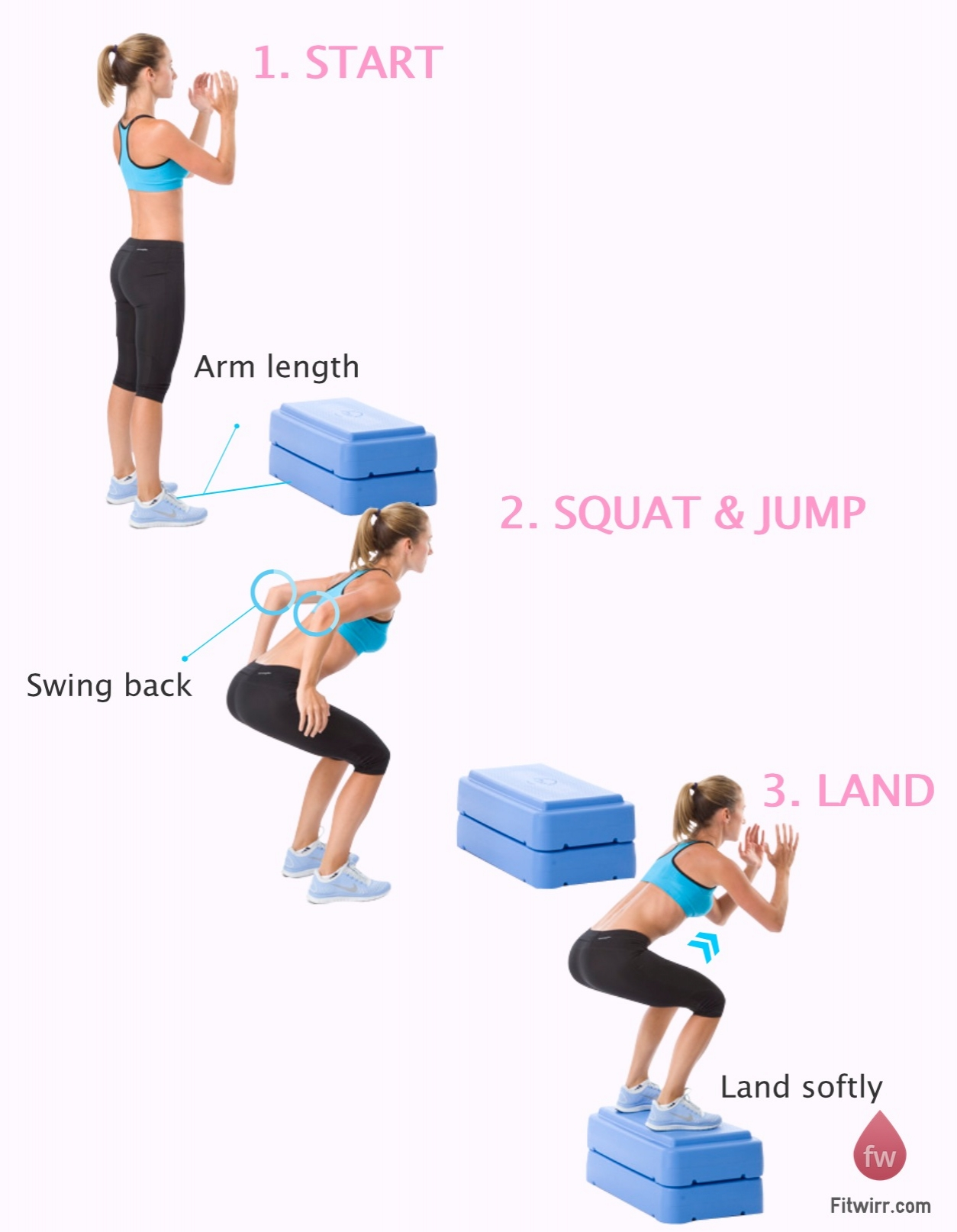 Step Workout: Glutes Day! Todays Workout